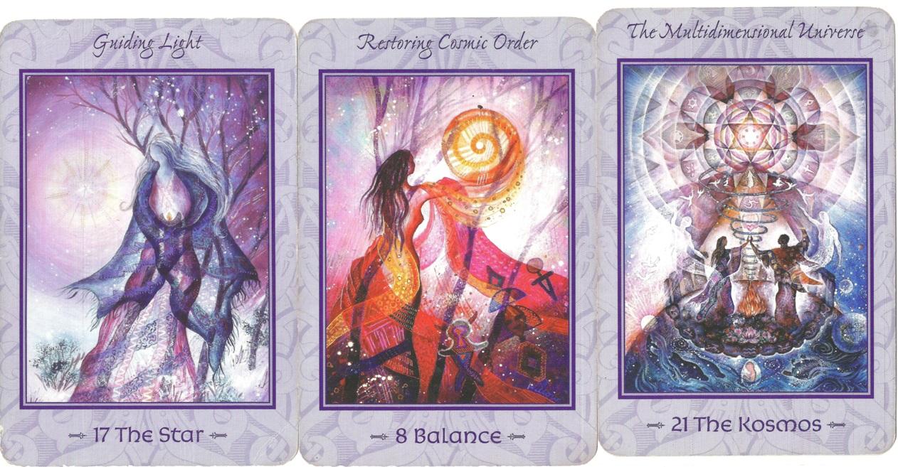 Tarot of Transformation cards