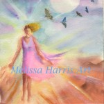 Shining Priestess by Melissa Harris