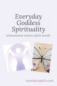 d.i.y. online course for 2; everyday goddess spiritual - wisewomen voices spirit words