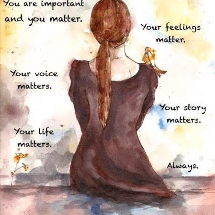 You Matter - Mary Costanza A Womans Heart and Soul